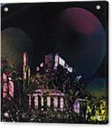 Purple Temple Acrylic Print