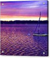 Purple Waters  Acrylic Print