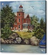 Put-in-bay Lighthouse Acrylic Print
