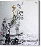 Putin's Surprising Crimea Visit Acrylic Print