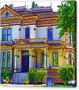 Puyallup Mansion In Washington State Acrylic Print
