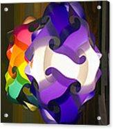 Puzzle Lamp Acrylic Print
