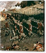 Pyle: Battle Of Bunker Hill Acrylic Print