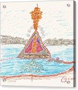 Pyramid Lake - Nevada Acrylic Print
