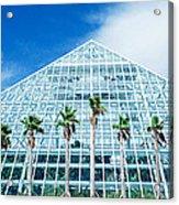 Pyramid, Moody Gardens, Galveston Acrylic Print