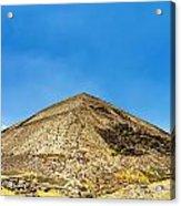 Pyramid Of The Sun Acrylic Print