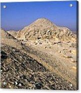 Pyramid Of Unas. 2375 -2345 Bc. Egypt Acrylic Print