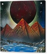 Pyramids 4663 Acrylic Print