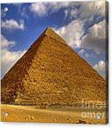 Pyramids Of Giza 28 Acrylic Print
