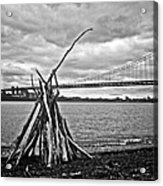 Pyre At The Bridge Acrylic Print