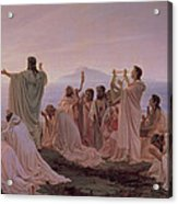 Pythagoreans' Hymn To The Rising Sun Acrylic Print