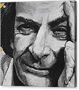 Qed- Richard Phillips Feynman Acrylic Print