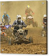 Quad Race Acrylic Print
