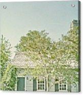 Quaint Home Acrylic Print