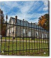 Quaker Meeting House - Warrington Acrylic Print