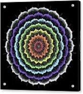 Quan Yin's Healing Acrylic Print