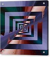 Quantum Conundrum Acrylic Print by Tim Allen