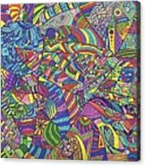 Quantum Qarma Acrylic Print by Ty DAvila