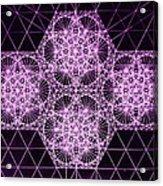 Quantum Snowfall Acrylic Print