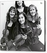 Quartet Of Muses Acrylic Print