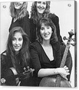 Quartet Of Muses II Acrylic Print
