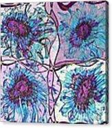 Quatro Floral - 11ac04 Acrylic Print
