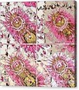 Quatro Floral - 22a Acrylic Print