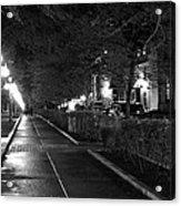 Quebec Night Acrylic Print