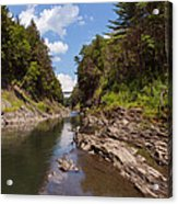 Quechee Gorge Acrylic Print