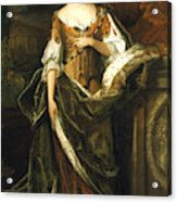 Queen Anne Of England (1665-1714) Acrylic Print