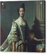 Queen Charlotte (1744-1818) Acrylic Print