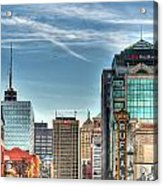 Queen City Downtown Acrylic Print