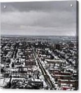Queen City Winter Wonderland After The Storm Series 0010 Acrylic Print