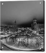 Queen City Winter Wonderland After The Storm Series 0018a Acrylic Print