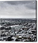 Queen City Winter Wonderland After The Storm Series 002 Acrylic Print