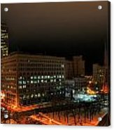 Queen City Winter Wonderland After The Storm Series 0020 Acrylic Print