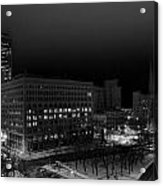 Queen City Winter Wonderland After The Storm Series 0020a Acrylic Print