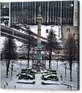Queen City Winter Wonderland After The Storm Series 0026 Acrylic Print