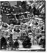 Queen City Winter Wonderland After The Storm Series 0028a Acrylic Print