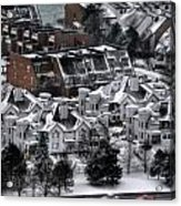Queen City Winter Wonderland After The Storm Series 0028b Acrylic Print