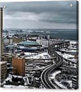Queen City Winter Wonderland After The Storm Series 006 Acrylic Print