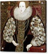 Queen Elizabeth I (1533-1603) Acrylic Print