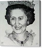 Queen Elizabeth II Acrylic Print