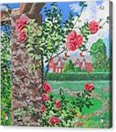 Queen Gardens In Belfast Acrylic Print