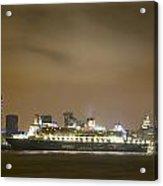 Queen Mary 2 Acrylic Print