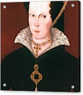 Queen Mary I Of England Acrylic Print