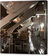 Queen Mary Sun Deck Acrylic Print