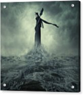 Queen Of The Darkness Acrylic Print