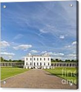 Queen's House In Greenwich Acrylic Print
