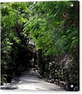 Queens Staircase Nassau Bahamas Acrylic Print by Keith Stokes
